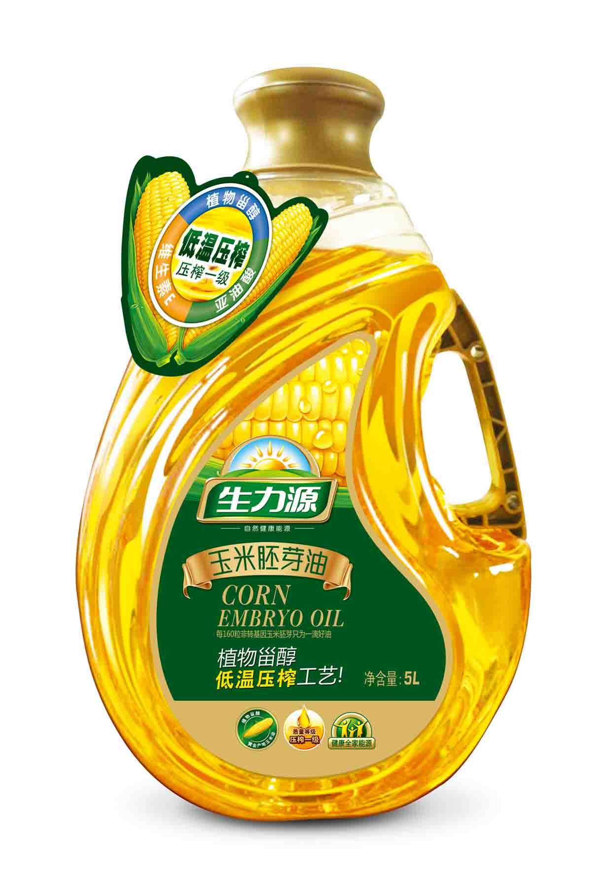 5L高端玉米胚芽油